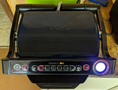 T-Fal OptiGrill SERIE 8351s1 Meat Grill Automatic Sensor Ind