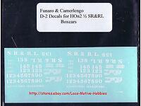 Champ decals HO HON-2 DRGW Rio Grande narrow gauge black lettering  E69