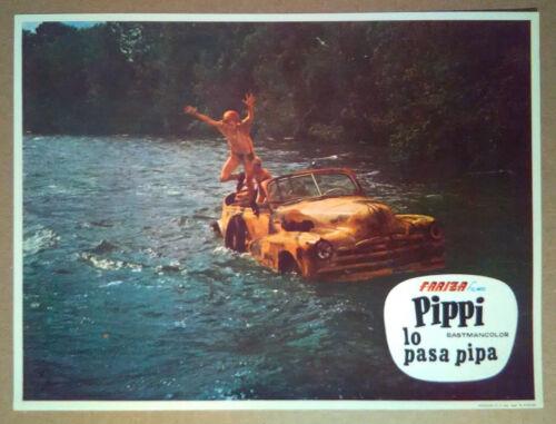 Lobby Still~ PIPPI Longstocking ON THE RUN ~1970 ~Inger Nilsson ~Par Sundberg