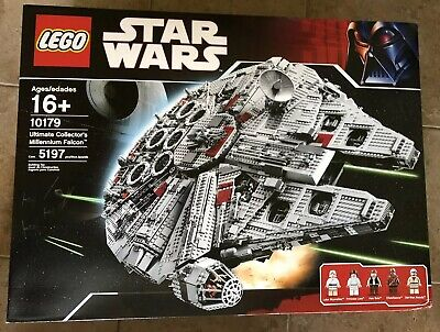 LEGO UCS Millennium Falcon (10179) - NEW IN SHIPPING BOX Retired Ultimate