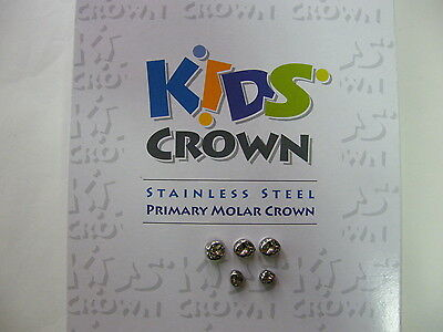 Stainless Steel Primary Molar Crowns All Sizes Kids Crown 3m Compatiblerefill