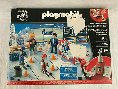Playmobil 9294 NHL Advent Calendar Road To The Cup Christmas Toy Advent