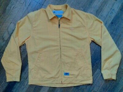 Dickies Construct YELLOW Men's Workwear Jacket Sz M 100% NWOT $220 skate punk