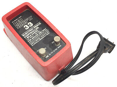 Red Snapr Snaper 1 Mile Range 33 Electric Fence Controller