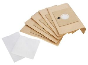 Vacuum Cleaner Hoover Bags For Proaction Cylinders SL204 5pk With Filters