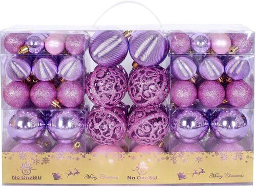Christmas Balls Ornaments 100pcs Shatterproof