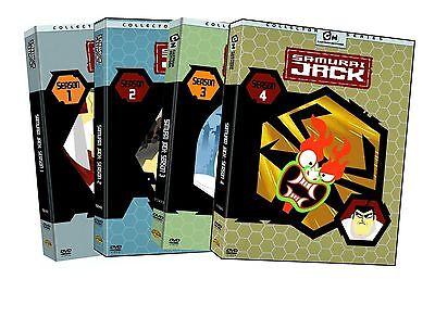 Samurai Jack Complete Tv Series Seasons 1 4  Season 1 2 3 4  Box   Dvd Set S