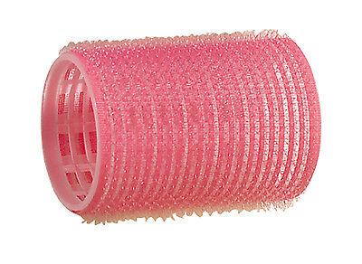 Comair Haftwickler Klettwickler rosa 44 mm  Friseur Qualität 12er #0