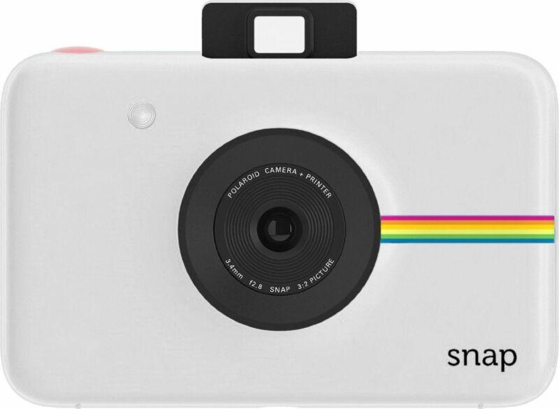 Polaroid Snap Instant Digital Camera with ZINK Zero Ink Technology (White)