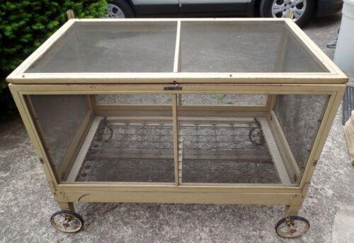 Antique 1916 BETTER BABY Indoor Outdoor Rolling Playpen Crib Bassinette Made USA