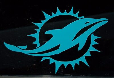 Miami Dolphins Football Logo Vinyl Decal Sticker 77066