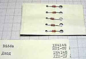DIODE point-contact diode 1N4148 ( x 5 pcs ) [058-78 ] - Wroclaw, Polska - DIODE point-contact diode 1N4148 ( x 5 pcs ) [058-78 ] - Wroclaw, Polska