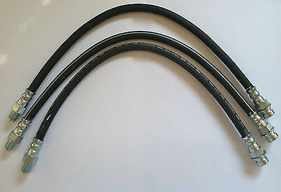Brake Hose Set For 1933-1934 Plymouth, Dodge, Desoto And Chrysler Front And Rear