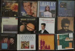 Variety of Original CDs and double CD packs Croydon Burwood Area Preview