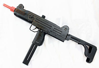 FULL AUTO Electric Airsoft Uzi - SMG AEG D91 Rifle/Gun + Many Extras -- NEW