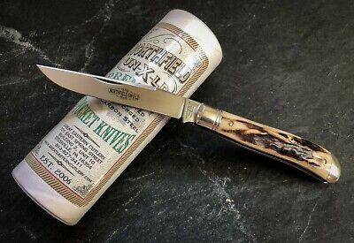 GREAT EASTERN CUTLERY GEC 48 488117 Weasel Single Blade Trapper Knife Near Mint