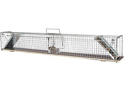 116cm  -  Marderfalle Lebendfalle Kaninchenfalle Tierfalle Drahtfalle Iltisfalle