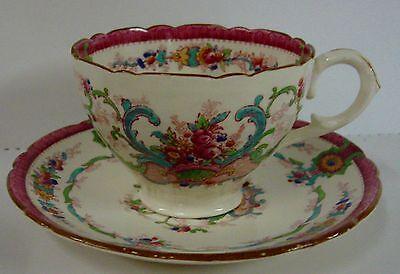 Discount Cups (Royal Cauldon SOUVENIR  Cup Saucer Set 25% DISCOUNT Multiple)