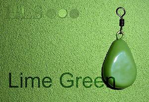 Verde-Lima-Anzuelo-cabeza-polvo-de-recubrimiento-de-plomo-Plastico