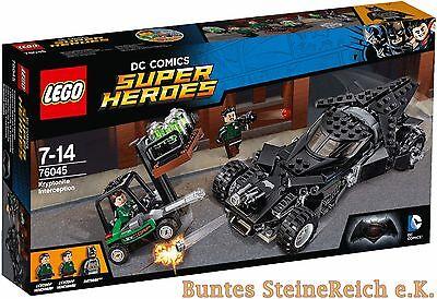 LEGO® SUPER HEROES: 76045 Kryptonit-Mission im Batmobil & 0.-€ Versand & OVP NEU