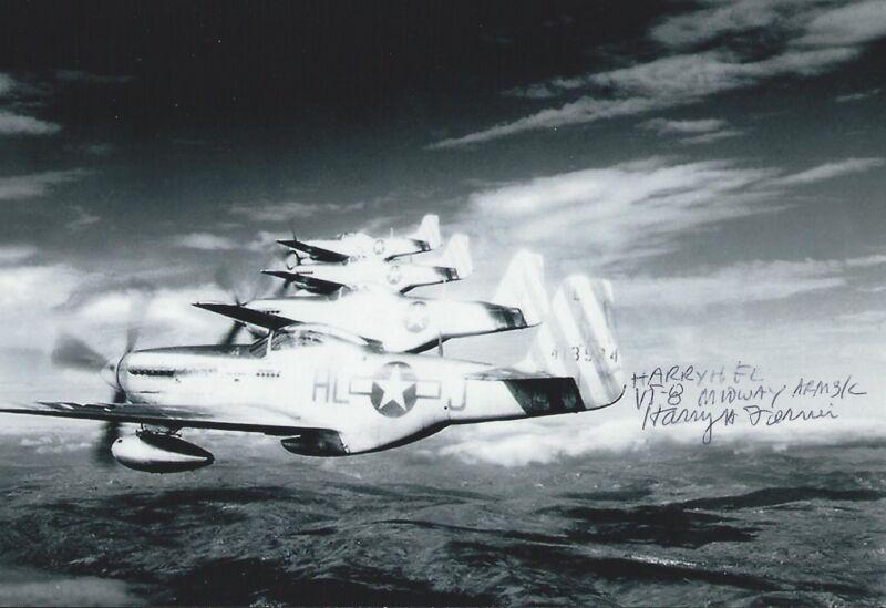 Harry Ferrier signed autograph Battle Of Midway WW II Torpedo 8 RARE COA LOOK!!