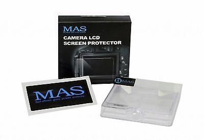 Protezione Display Copri Monitor LCD cristallo MAS Screen Protector Nikon D7500 usato  Bologna