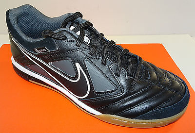 NIKE Gato Men's Leather Indoor Soccer Shoes  415123-001   NEW