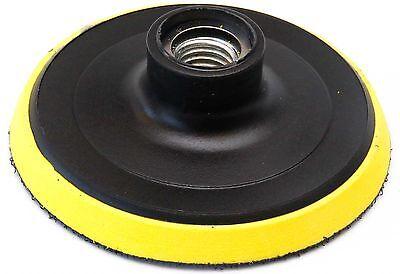 4 Inch Plastic Foam Backer Pad 5/8-11 For Diamond Polishing Pads Stone Concrete