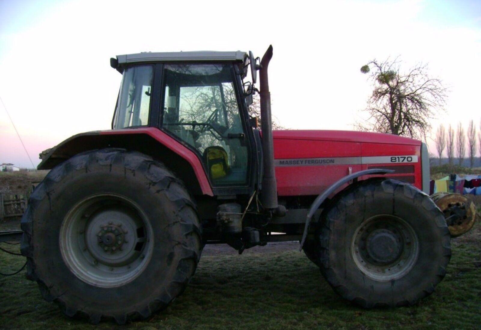 Mf Tractor Decals : Massey ferguson mf tractor parts manual £