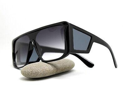 Sunglasses Men Woman Rectangular Square Mask Black Fashion
