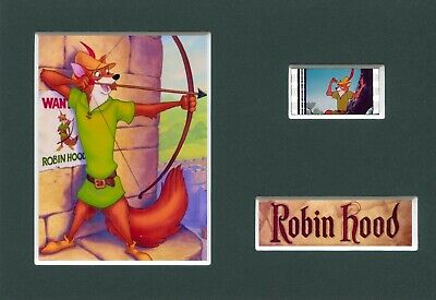 ROBIN HOOD Disney Mounted 35mm Movie Film Cell