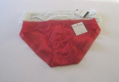 Calvin Klein Icon Lace Bikini Panty F3656 S  M  L Msrp  20 00 Nwt