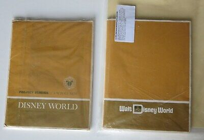 1967 and 1969 Florida Project DISNEY WORLD Press kits w/ photos and more