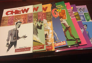 CHEW Graphic Novels