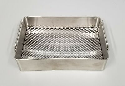 Stainless Sterilization Tray With Handles 10 X 6-12 X 2-12