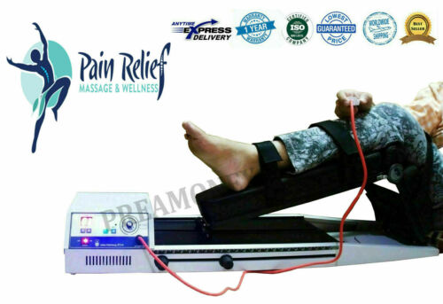 New Continuous Passive Motion Machine Knee Exercise CPM CE Certified Unit -SFCN