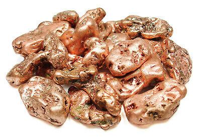 NATURAL - (1) Native COPPER Nugget w/Description Card - Healing Stone - Copper Nugget