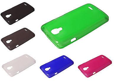 Crystal Skin Tpu Case (Soft TPU Crystal Skin Cover Case For LG Access LTE L31G L31C L31L F70 Phone)