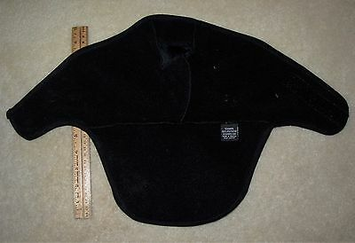 Do Wrap Stretch Cap - RN# 129826 Schampa Stretch Z-Wrap Black cloth Do Rag / Skull Cap half face mask
