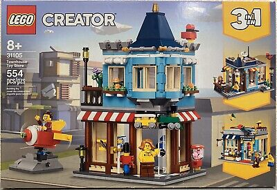 LEGO Creator 3-in-1 Townhouse Toy Store 31105 New 554 pcs