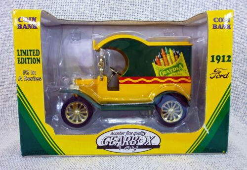 Crayola Ford 1912 Delivery Car Bank