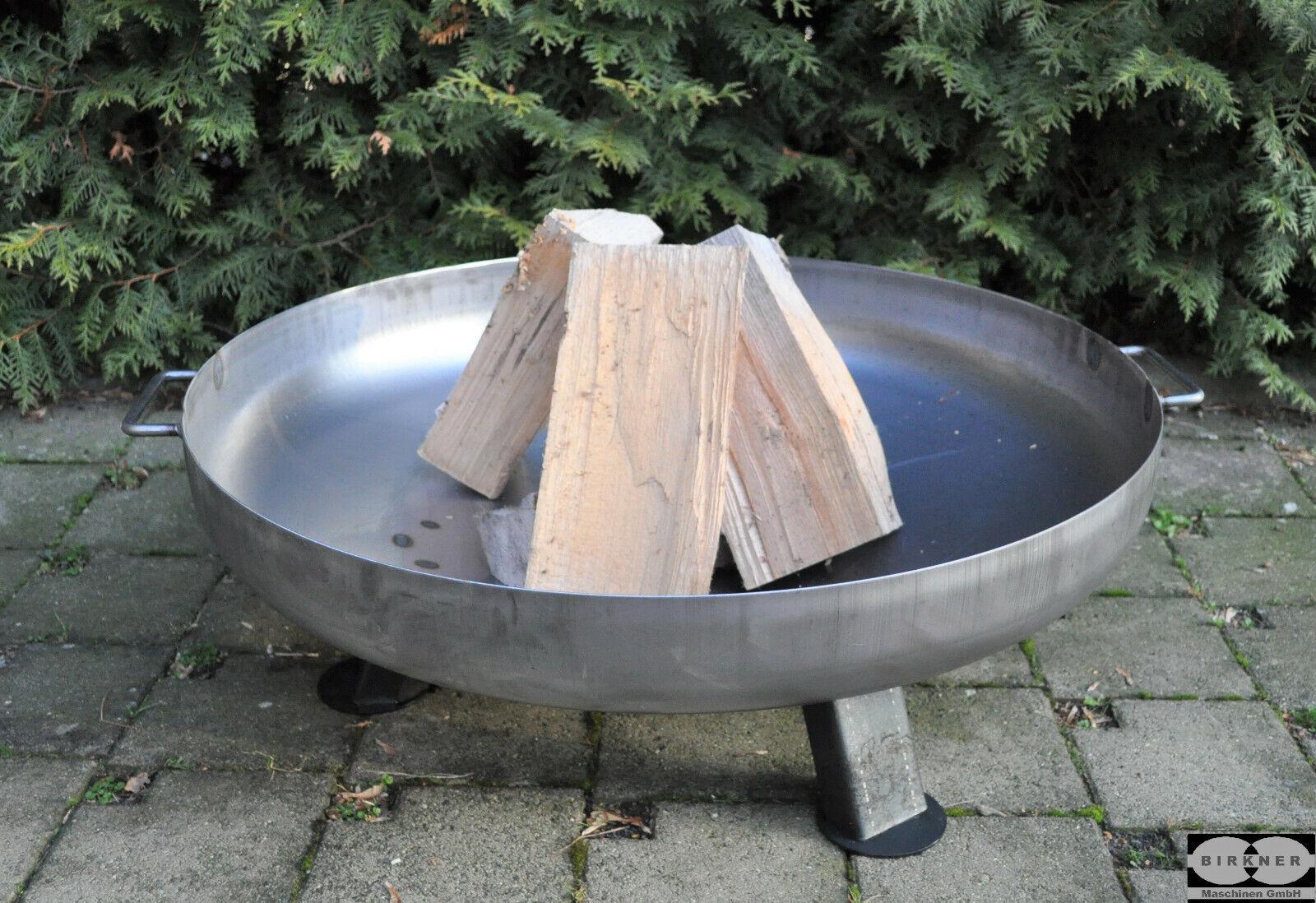 Feuerschale 100 cm Eisenschale Klöpperboden 1000 mm Wandung 4 mm SMD1004