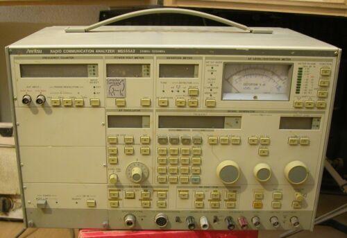 Anritsu MS555A Radio Communication Analyzer