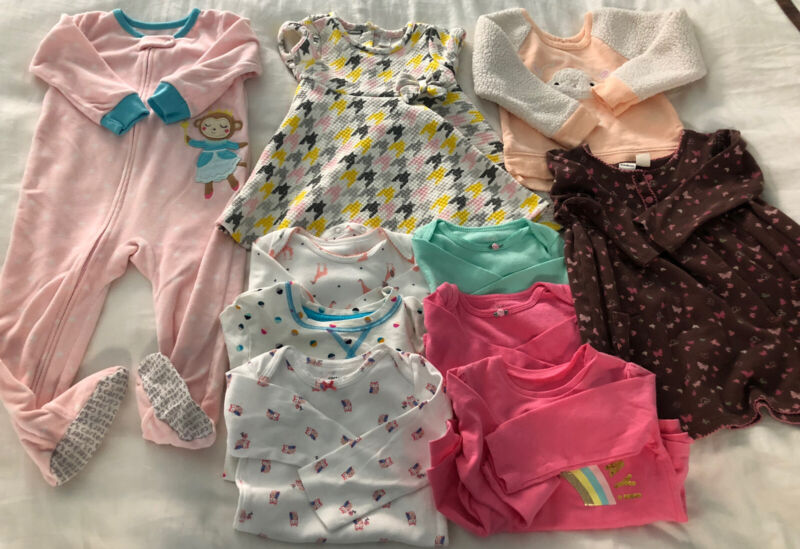 Toddler girl clothes (18 Months) lot - Over 50 Pieces!