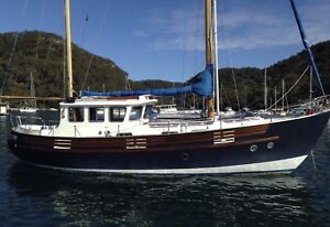 Wanted: Fisher 37 - Do you know this yacht? Please help me contact the owner.