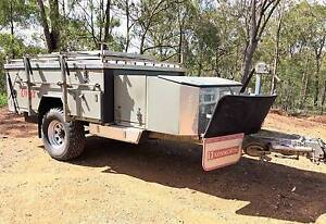 Pioneer Onyx hard floor off-road camper trailer Gladstone Surrounds Preview