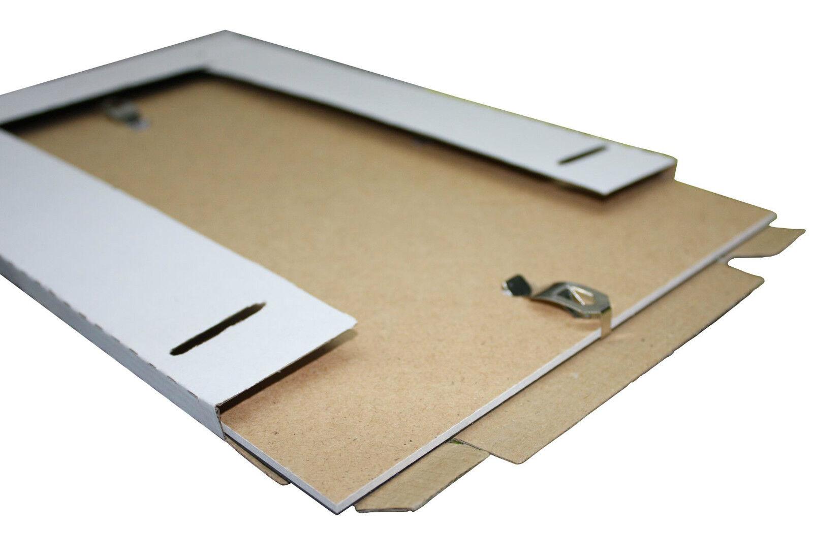 Rahmenloser Bilderrahmen Bildhalter Cliprahmen Fotorahmen Kunstglas Plexi