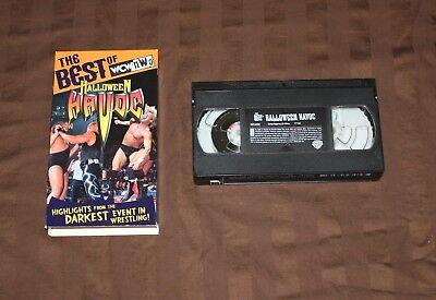 WCW - Best of Halloween Havoc (VHS, 1998) WWE WWF NWO NON RENTAL (Halloween Havoc 98)