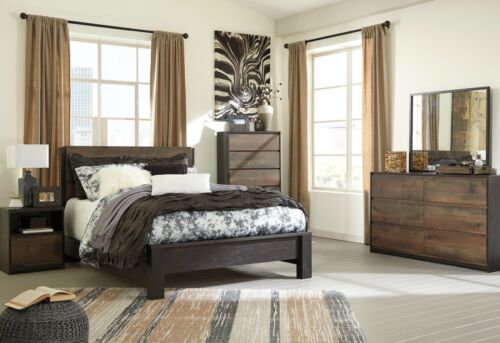 Ashley Furniture Windlore Queen 6 Piece Panel Bedroom Set