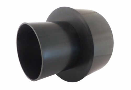 """Dust Collector 4"""" to 2.5"""" Duct Reducer ABS Plastic 4"""" OD & 2.5"""" OD Opening 73448"""